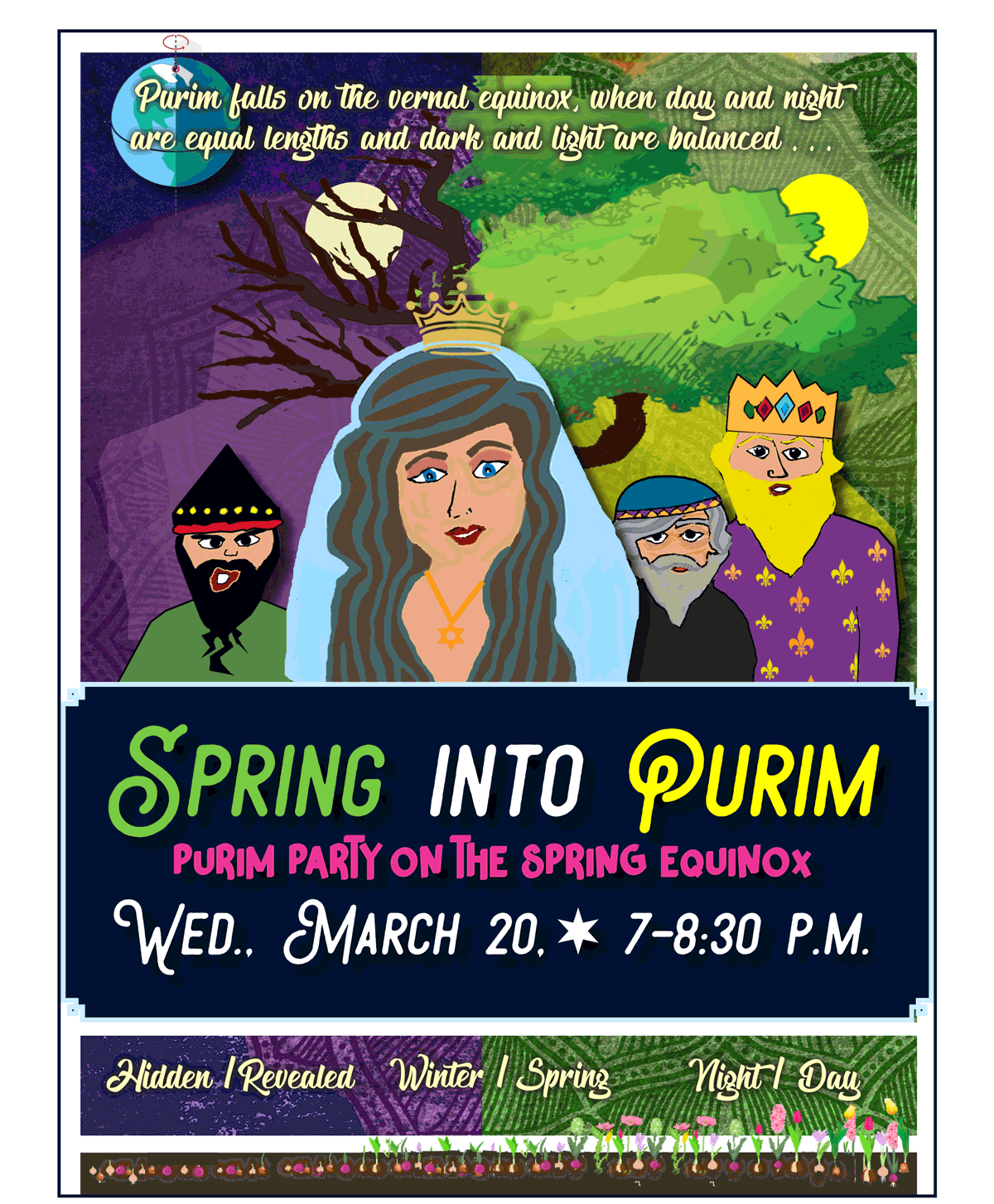 Purim Party March 20